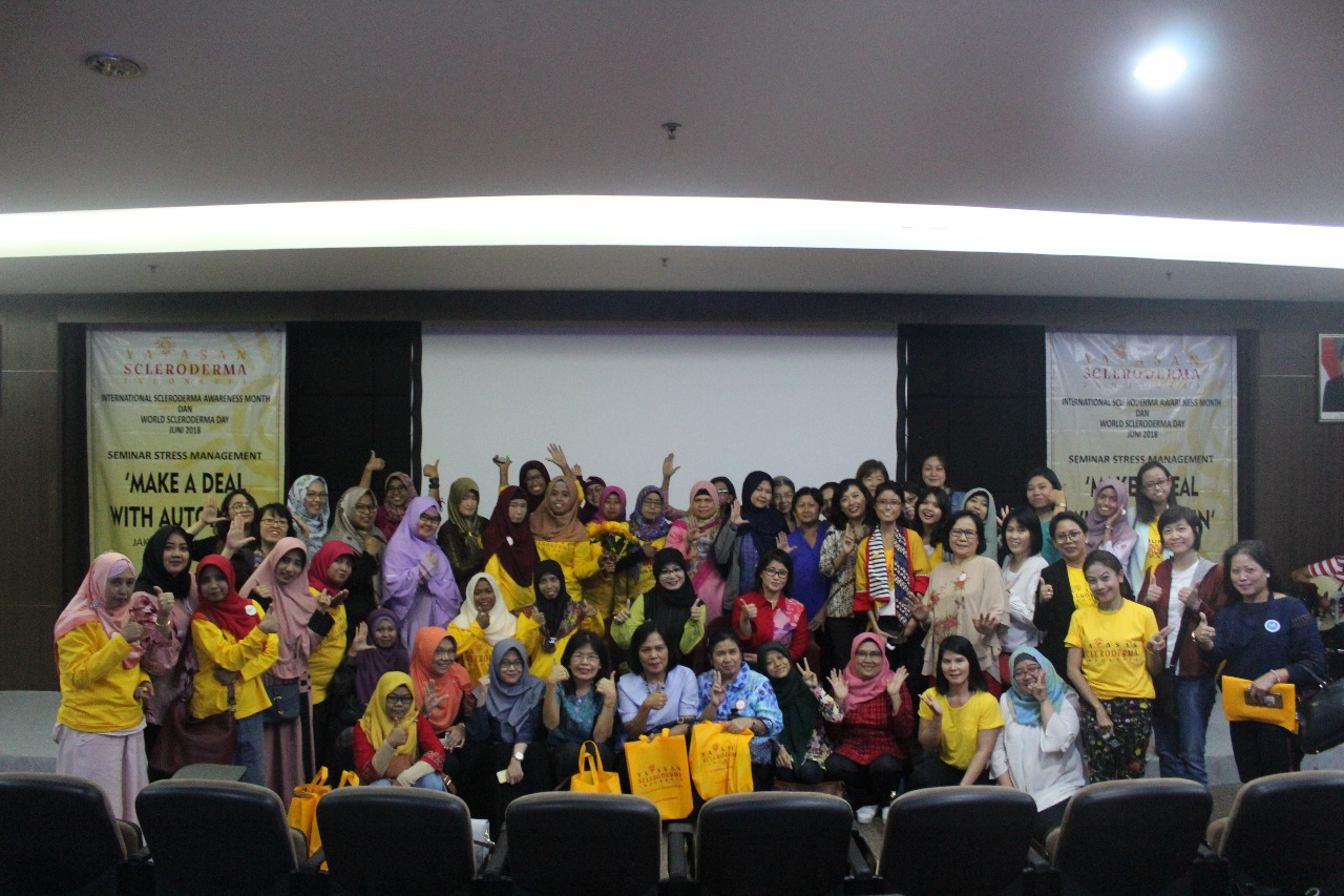 SEMINAR STRESS MANAGEMENT 'MAKE A DEAL WITH AUTOIMUN'